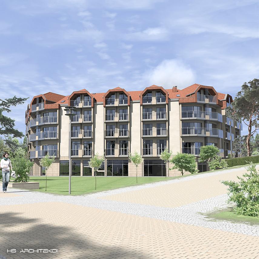 WHITE HOTEL <br />KRYNICA MORSKA <br />UL. KORCZAKA-0