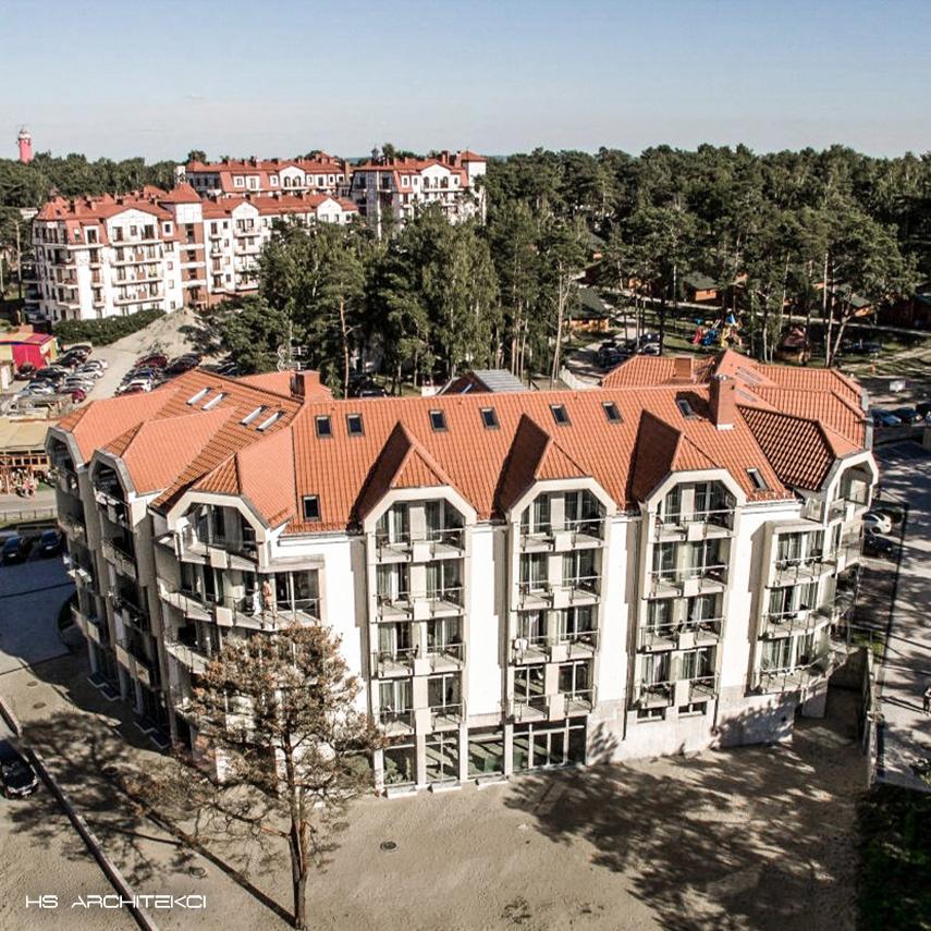 WHITE HOTEL <br />KRYNICA MORSKA <br />UL. KORCZAKA-2